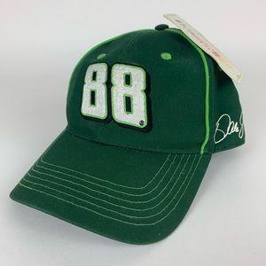 Dale Earnhardt Jr Green NASCAR 88 Adjustable Hat